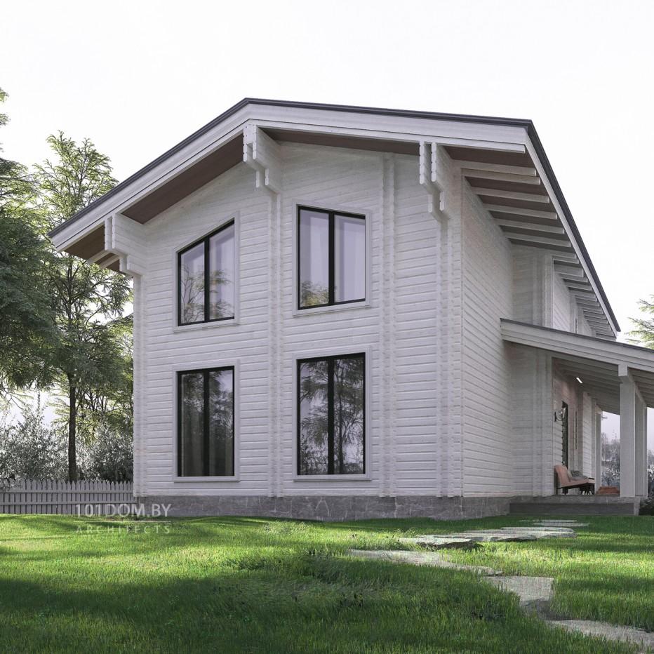Дом в д. Будагово. 132,1 м2