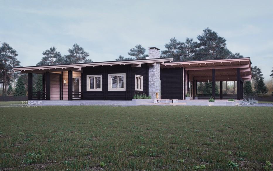 Дом в д. Ратомка, 161 м2