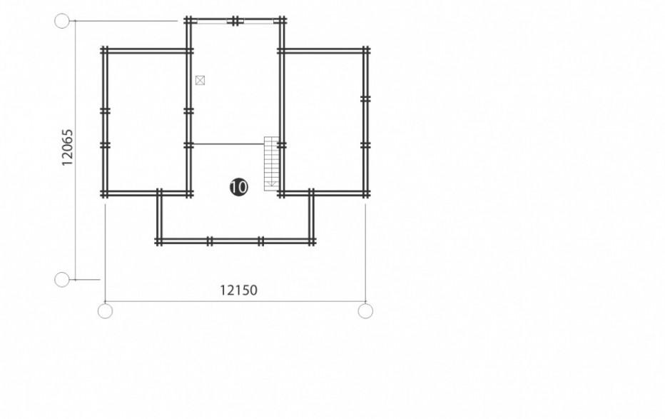 Дом в д. Мачулищи. 111 м2
