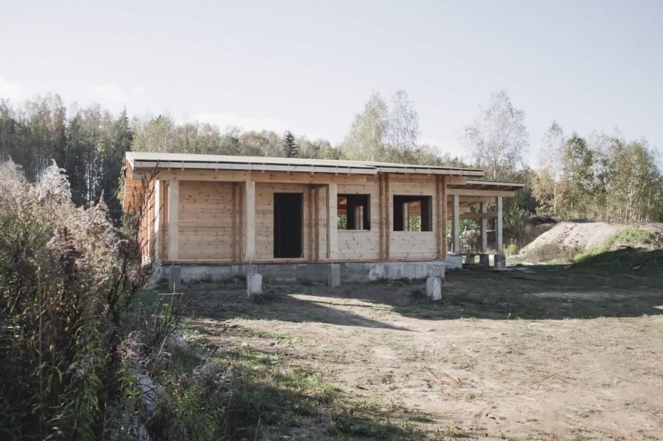 Дом в д. Ратомка. 160,3 м2