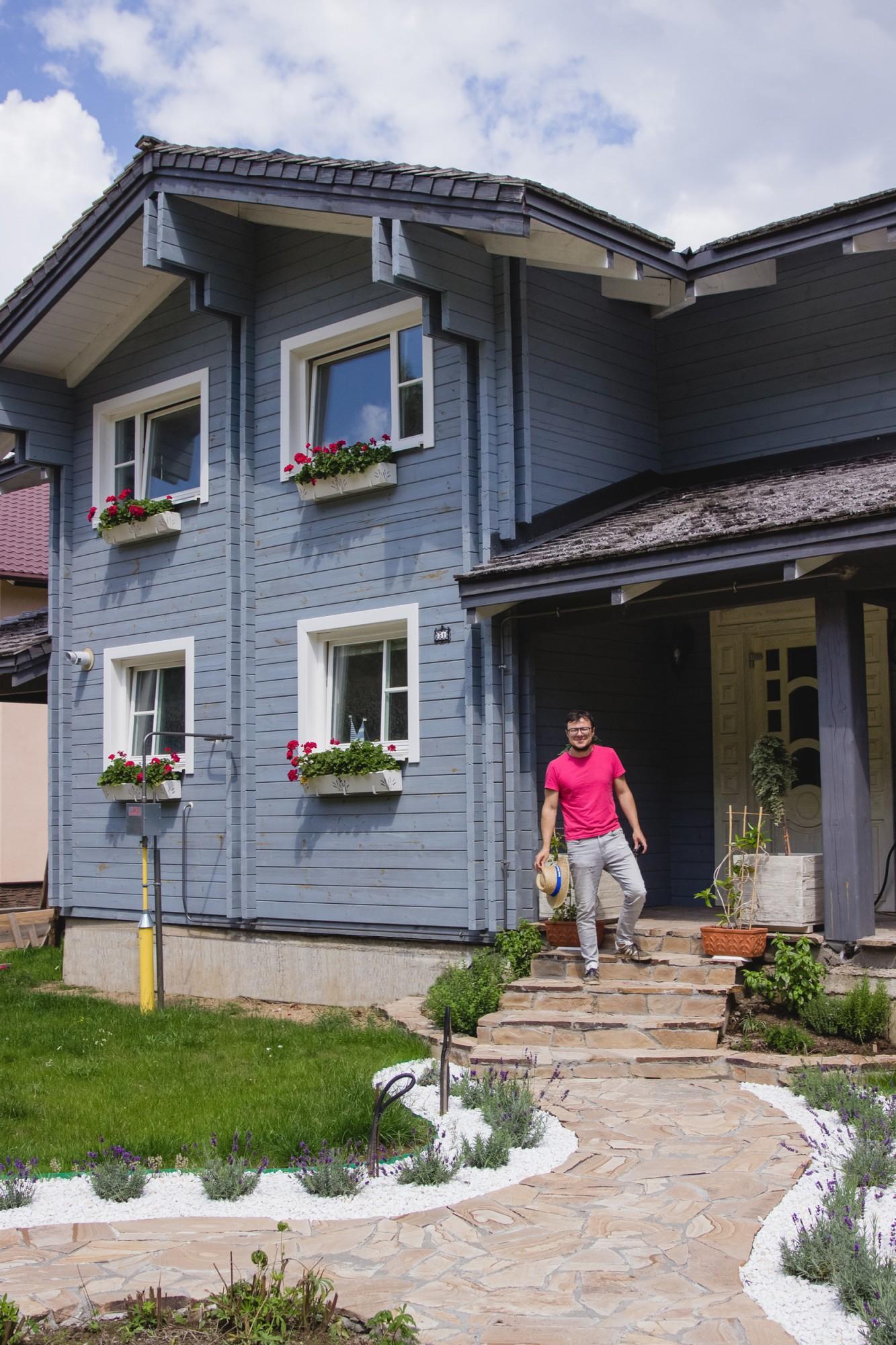 Дом в д. Лесковка. 215 м2