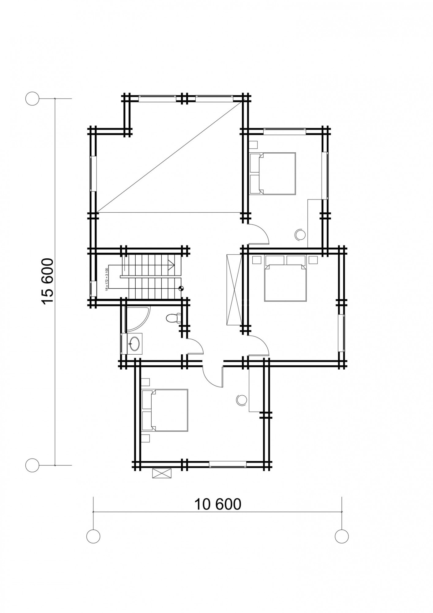 Дом в д. Клоково 215м2.