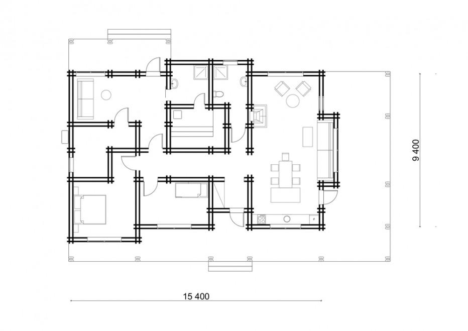 Дом в г. Глубокое, 160 м2