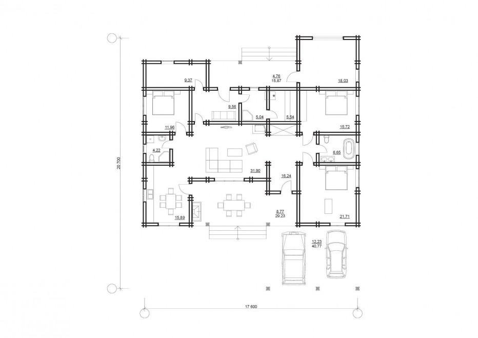 Дом в п. Раков 198 м2