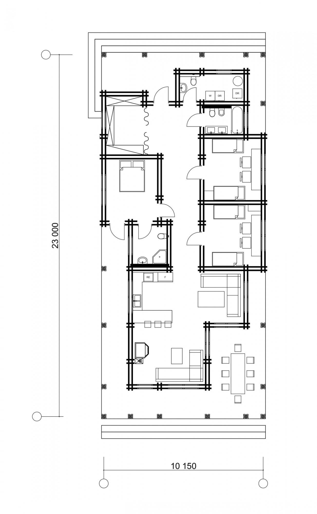 Дом в д. Узборье 159м2
