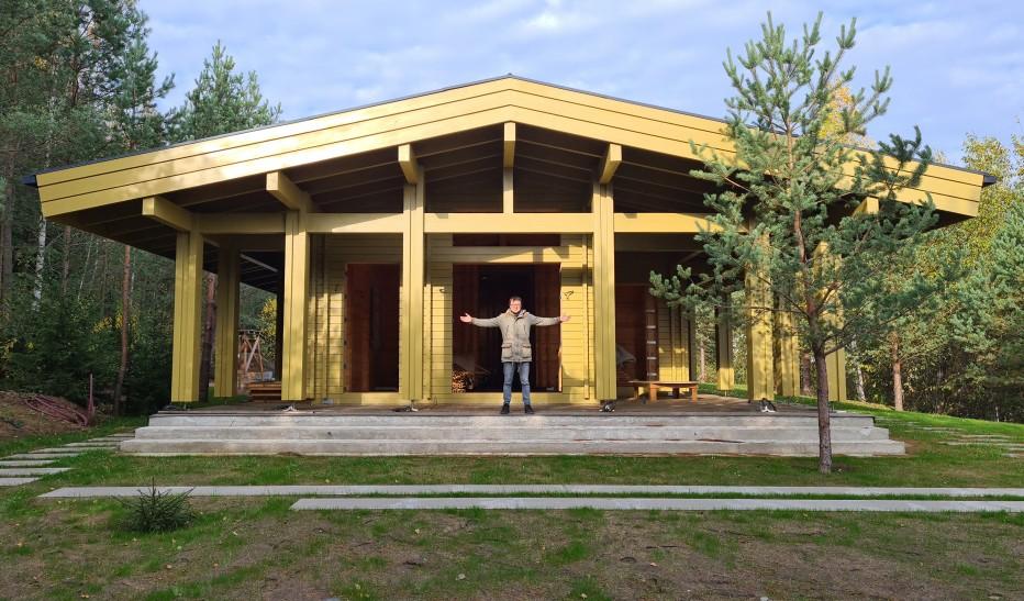 Дом в с.т. Узборье 159 м2