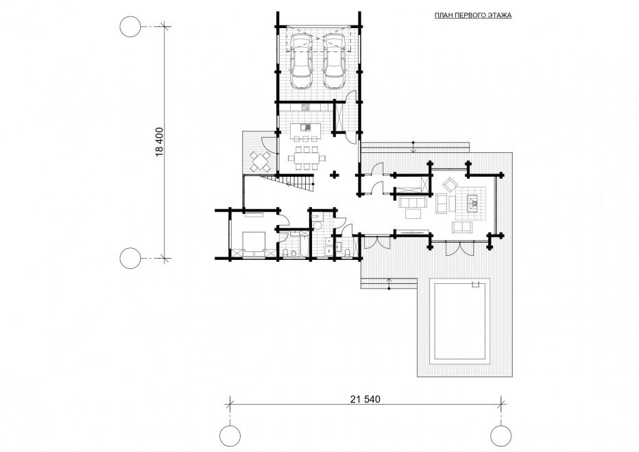 Дом в Подмосковье, 340 м2