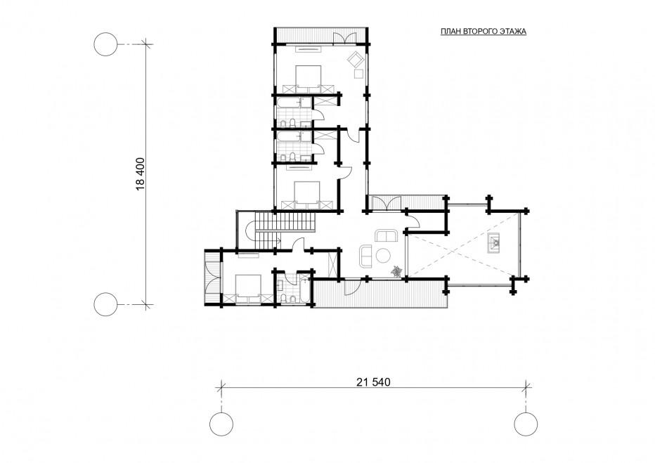 Дом в Подмосковье 340 м2