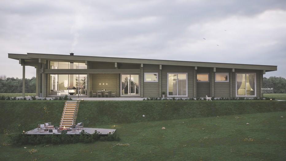 Дом в д. Богино, 255 м2