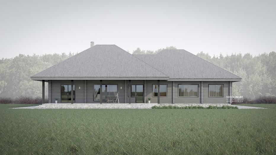 Дом в д. Силичи, 210 м2