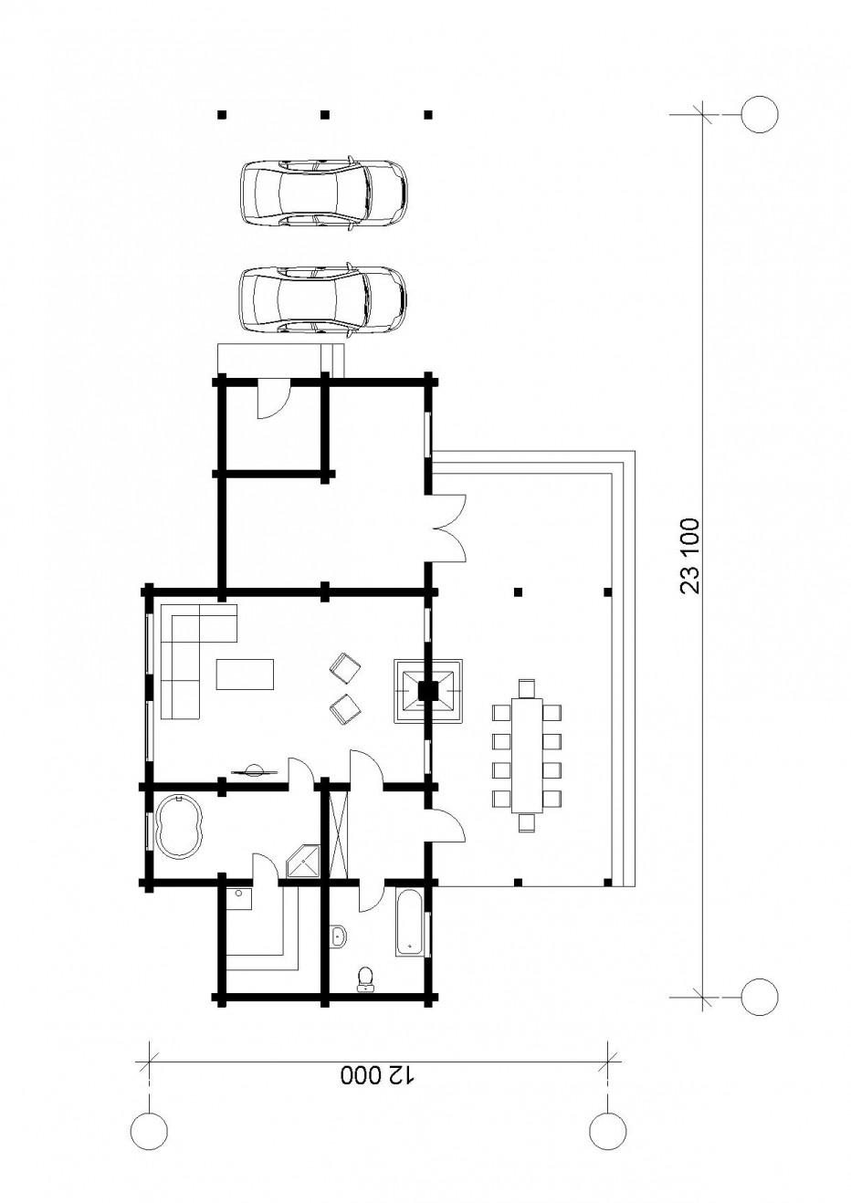 Гостевой дом в д.Силичи, 120 м2