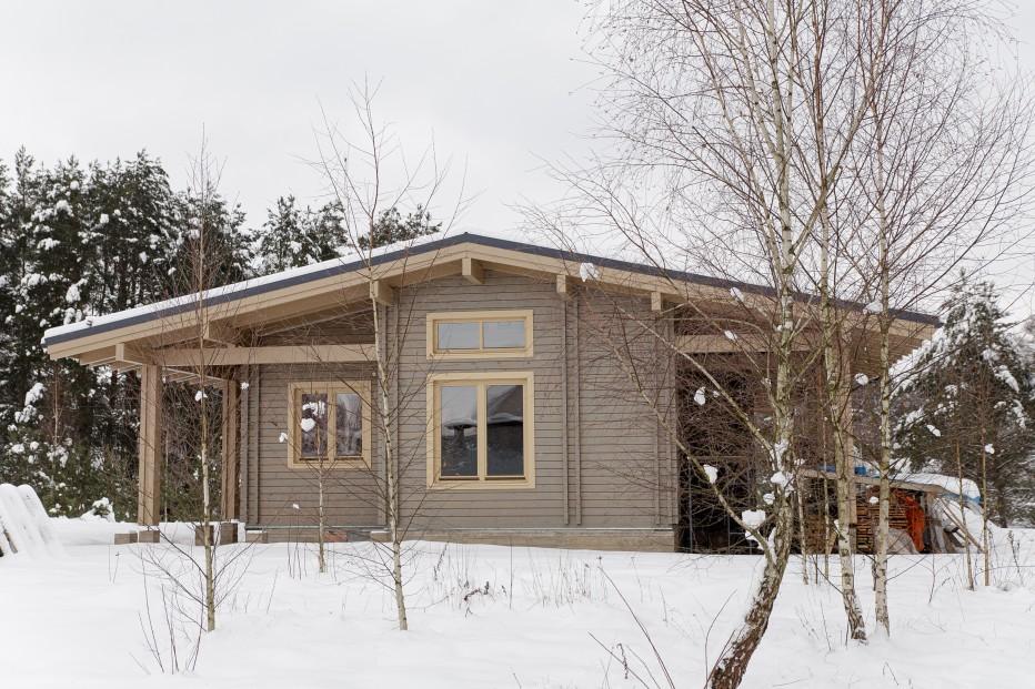 Дом в деревне Кисели 108м2
