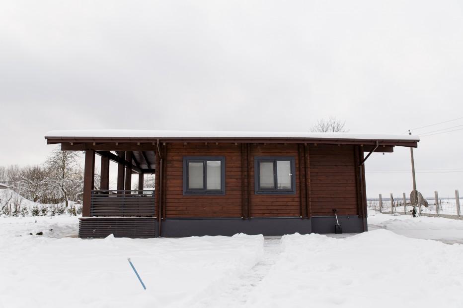 Дом в д. Новая веска 108м2