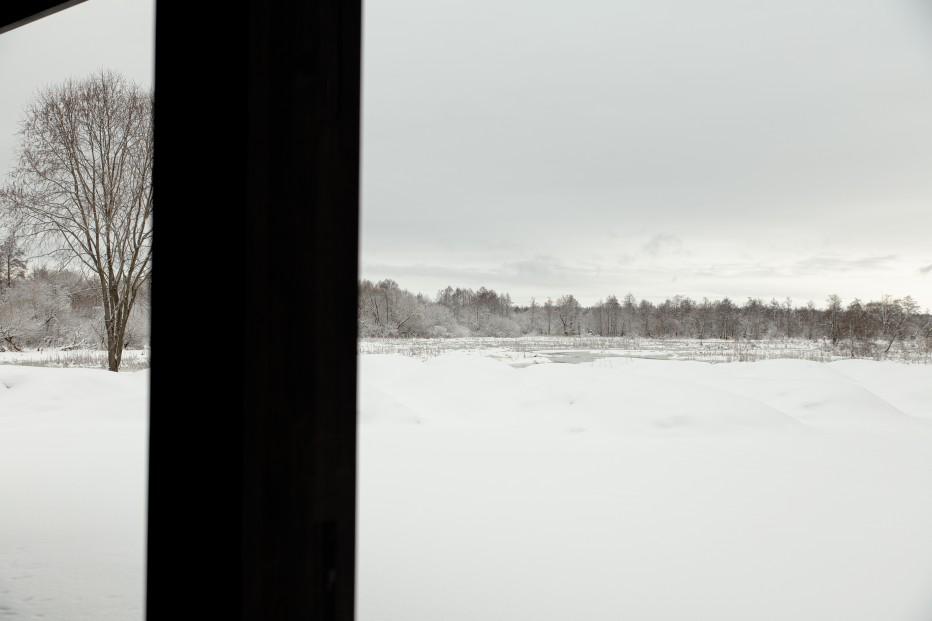 Усадьба для отдыха на берегу реки 293м2