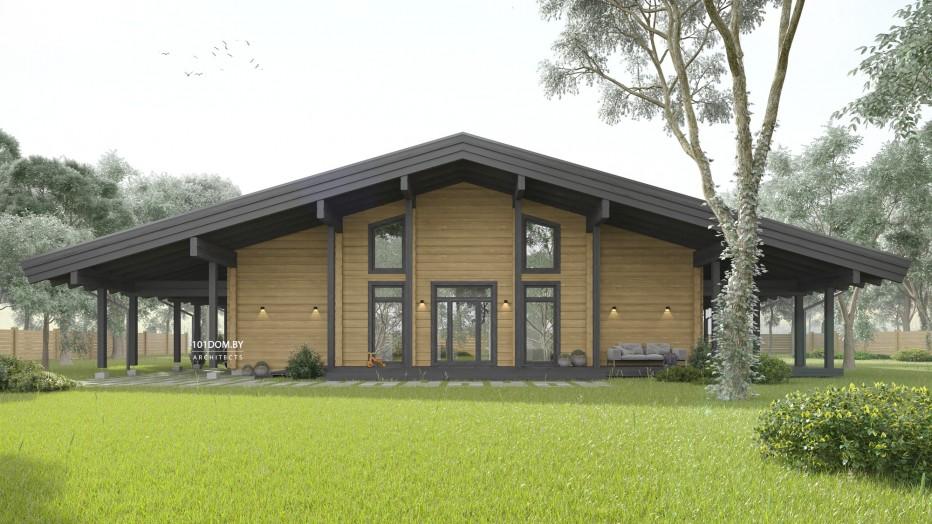 Дом в д. Озерище, 259 м2
