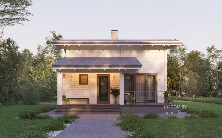 Дом в д. Сёмково 81м2