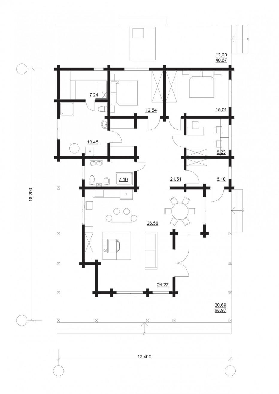 Дом в д. Кисели, 175 м2