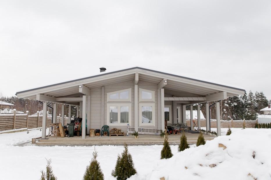 Дом в д. Кисели 170 м2